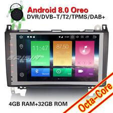 "DAB+Autoradio Mercedes A/B Klasse Sprinter Viano Vito W639 9""Android 8.0 Nav GPS"