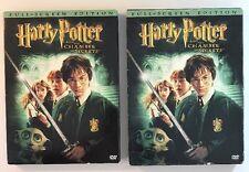 Harry Potter: Chamber of Secrets DVD 2003 2-Disc Set & CD-Rom EUC
