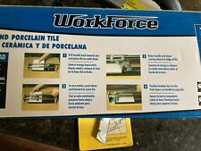 """14"""" tile cutter with grout saw, nippers and rubber float"""