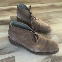 Banana Republic Desert Chukka Ankle Boots Mens Brown Suede Lace Up Shoes Sz 8M