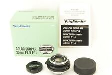 488 Voigtlander Color Skopar 35mm f/2.5 P II VM for Leica M **MINT** in Box