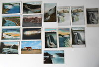LOT OF 16 NIAGARA FALLS  NEW YORK NY ANTIQUE  POSTCARDS LUNA FALLS LEWISTON ETC