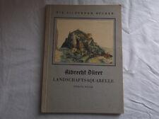 Die silbernen Bücher - Albrecht Dürer - Landschaftsaquarelle - Orig. v.1939 /S70