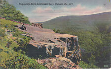 Post Card - Inspiration Rock, Kaaterskill Park, Catskill Mts., N.Y.