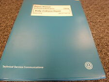 1999 Volkswagen VW Golf GTI Jetta Cabrio Body Collision Service Repair Manual