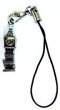 Plata Antigua 3D Big Ben London Souvenir Encanto Del Teléfono Móviles Tabletas De Bolsa De Regalo