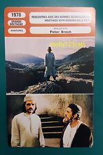 British Movie Meetings With Remarkable Men Terence Stamp French Film Trade Card