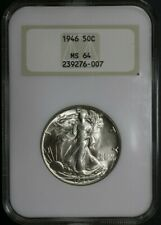 1946 Walking Liberty Half Dollar NGC MS64