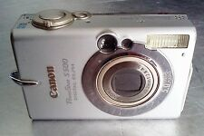 Canon PowerShot Digital ELPH S500 5.0 MP PC1084,  FOR PARTS ONLY, *** DEFECT ***