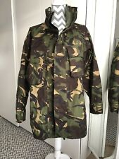 90s BRITISH ARMY MILITARY CAMOUFLAGE COMBAT WATERPROOF GORTEX JACKET-Size 170/96