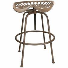 Tractor Seat Stool Seat Chair Workshop Garage Bar Garden Cast Iron Metal Rustic