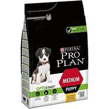 PURINA PRO PLAN Dog Medium Puppy With OPTISTART Rich In Chicken Dry Food,3 Kg