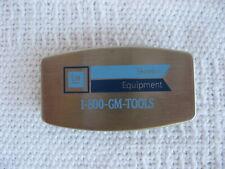 Zippo GM Advertising Money Clip/Folding Knife/Nail File-GM Tool Dealer/Equipment