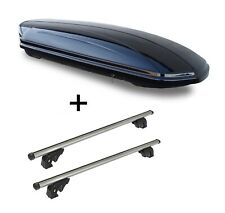 Dachbox MAA460L+Dachträger LION2 für Mercedes X 470 5Tür ab 18