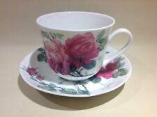 Ancienne tasse à thé Porcelaine English Roses Roy Kirkham 1992