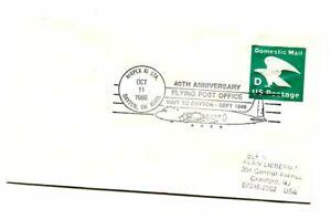 40th Anniversary First Flying Post Office Flight - Dayton Ohio - 1946-1986