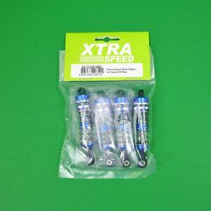 Xtra Speed 70mm Alloy Shock Damper 4pcs For 1:10 RC Crawler Tamiya CC01 CC02 Blu