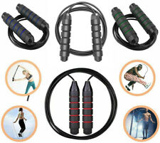 10 ft Jump Rope Aerobic Exercise Workout Speed Skipping Crossfit Gym Boxing Mens
