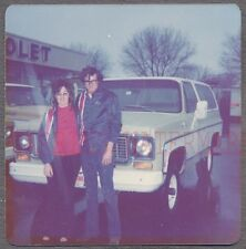Vintage Photo 1974 Chevrolet 4x4 Blazer Truck at Chevy Dealership 692824