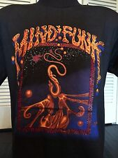 VTG Mind Funk Tour Shirt Sz M/L Chili Saliva Punk Rock Metal Used Ministry Faith