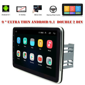 "9"" Android 9.1 2Din Car Stereo Radio GPS Navi MP5 Player WiFi Quad Core 1GB+16GB"