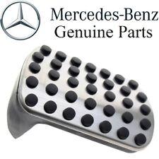 Mercedes AMG Sport Brake Pedal Stop Foot Pad Stainless Steel Aluminum GENUINE