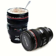 AU 24-105mm Travel Mug Cup Coffee Tea Camera Lens Cup Portable Multi Purpose