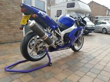 Yamaha yzf r1 4xv  1998 original bike in blue