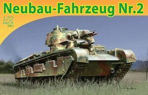 Dragon 7437 1/72 Plastic WWII German Neubau-Fahrezung Nr.2.