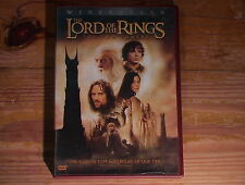 Lord of the Rings: The Two Towers Widescreen 2 Disk DVD Cinema Cut CLEAN TEST!!!