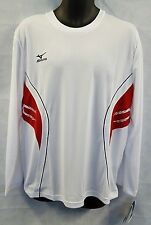 Mizuno TEAM RUNNING L/S TEE 52SP001-11 Top Size Large Mens Brand New #4565