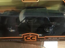 Jada CC Collectors Club Limited Edition 1987 Buick Grand National Diecast 1:18