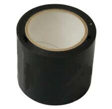 1 Roll 75mm 20m Silage BLACK Tape Agricultural Bale Agri Bag Repair Farmers PVC