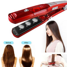 Steam Vapor Hair Straightener Flat Iron Curler Professional Ceramic For Salon
