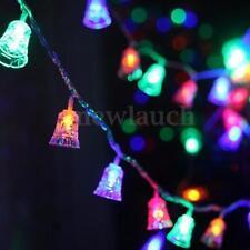Décorations lumineuses de Noël multicolores sans marque pour la maison