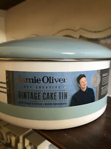 Vintage Jamie Oliver large cake/cakes storage tin