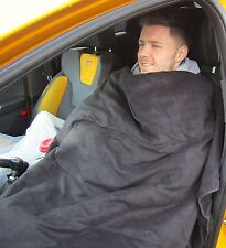 12V Black Heated Warm Winter Cosy Blanket Car,VAN,travel,Electric Cuddle Rud