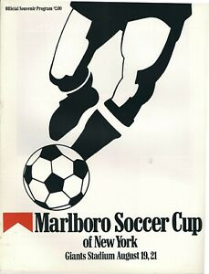 1988 Marlboro Soccer Cup of New York Program, Benfica, Sporting Cristal, Naciona