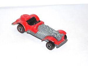 1973 Hot Wheels Redline Sweet 16 RED ENAMEL ALL ORIGINAL & INTACT! GOOD SHAPE!
