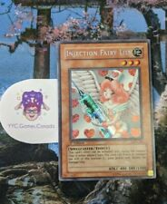 YuGiOh Injection Fairy Lily LOD-100 1st Edition Secret Rare Lightly Played