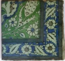 Antique 17th Century Damascus tile