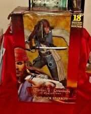 "Pirates of the Caribbean une Worlds End Capitaine Jack Sparrow 18"" TALKING FIGURE"