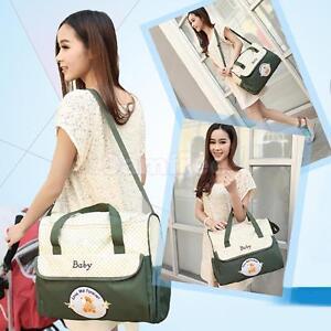 Nappy Changing Diaper Waterproof Liners Mummy Shoulder Travel Bag & Change Mat