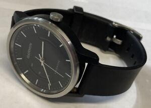 Men's Garmin Vivomove Watch Activity Tracker New Battery Nice Watch!