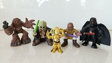 Star Wars Set of 5 Hasbro Galactic Action Figures x5 (New Without Tags or Box)