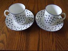 Elizabethan Daisy Pattern Staffordshire England Cup & Saucer (2) Fine Bone China