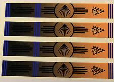 """0906 vinyle HD flèche wraps native 1 """"Large 7"""" long (pack 12)"""