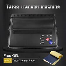 New Tattoo Stencil Maker Transfer Machine Flash Thermal Copier Printer Supplies