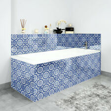 Bath Panels Printed on Acrylic - Vintage Pattern Tiles