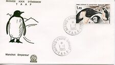 FDC / T.A.A.F. TERRES AUSTRALES TIMBRE N° 109 / FAUNE /